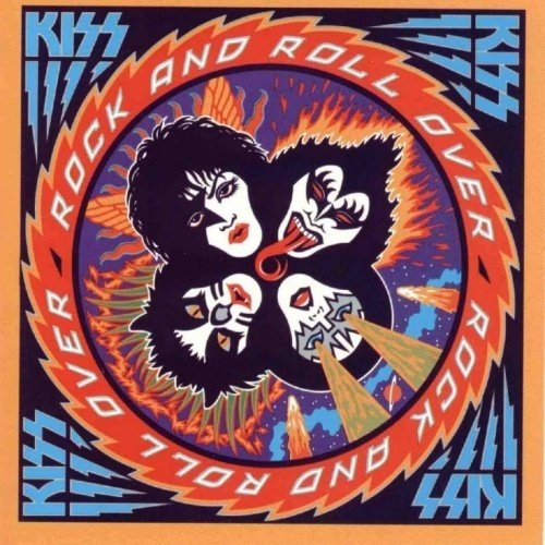 KISS Rock and Roll Over cover art