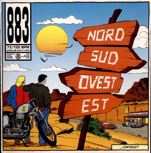 883 Nord sud ovest est Cover Art
