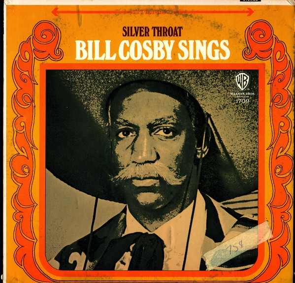 Bill Cosby Silver Throat: Bill Cosby Sings Cover Art