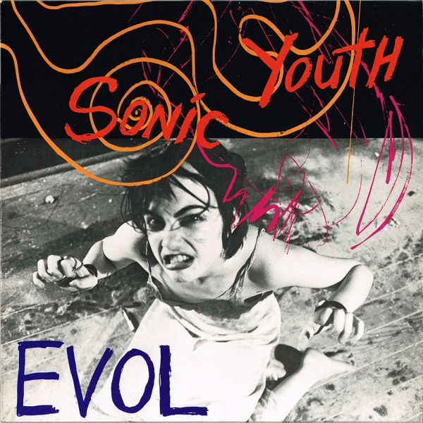 Sonic Youth EVOL cover art