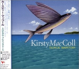 Kirsty MacColl Tropical Brainstorm cover art