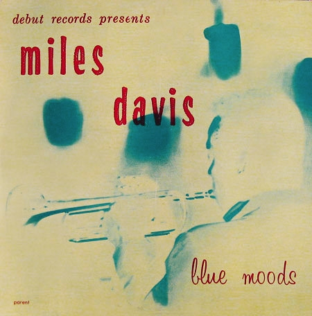 Miles Davis Blue Moods Cover Art