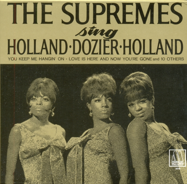 The Supremes The Supremes Sing Holland-Dozier-Holland cover art
