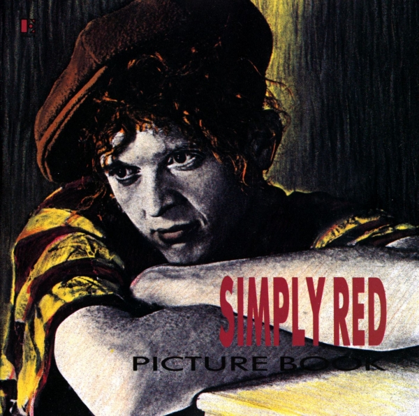 Simply Red Picture Book Cover Art