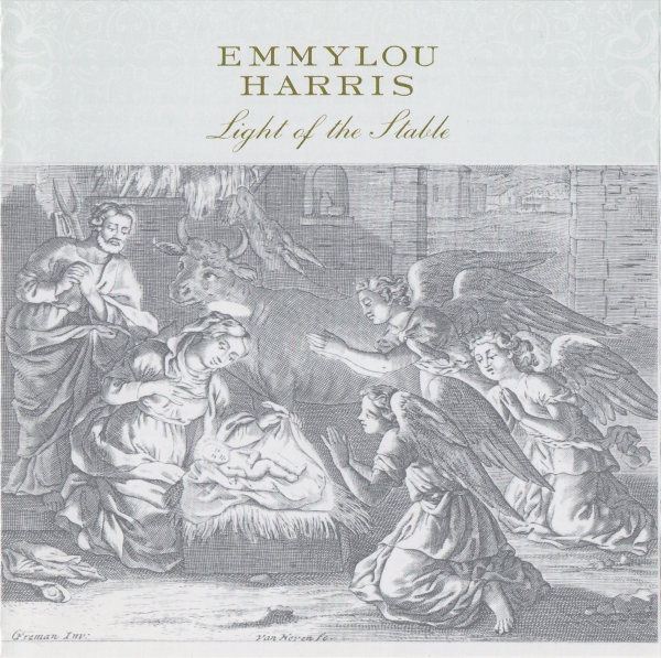 Emmylou Harris Light of the Stable (The Christmas Album) cover art