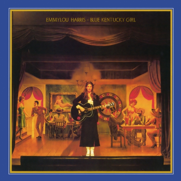 Emmylou Harris Blue Kentucky Girl Cover Art