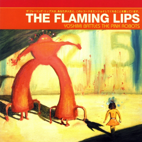 The Flaming Lips Yoshimi Battles the Pink Robots cover art