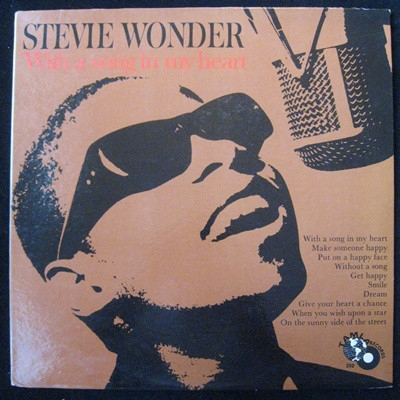 Stevie Wonder With a Song in My Heart cover art