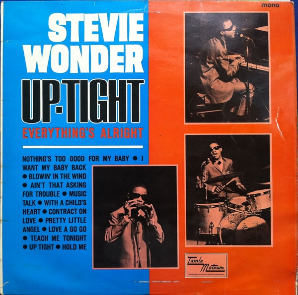 Stevie Wonder Up‐Tight (Everything's Alright) cover art