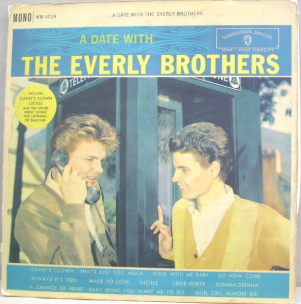The Everly Brothers A Date With The Everly Brothers cover art