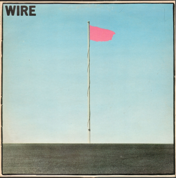 Wire Pink Flag Cover Art
