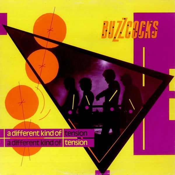 Buzzcocks A Different Kind of Tension cover art