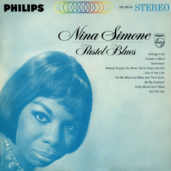 Nina Simone Pastel Blues cover art