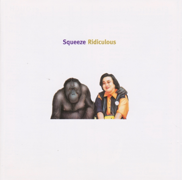 Squeeze Ridiculous Cover Art