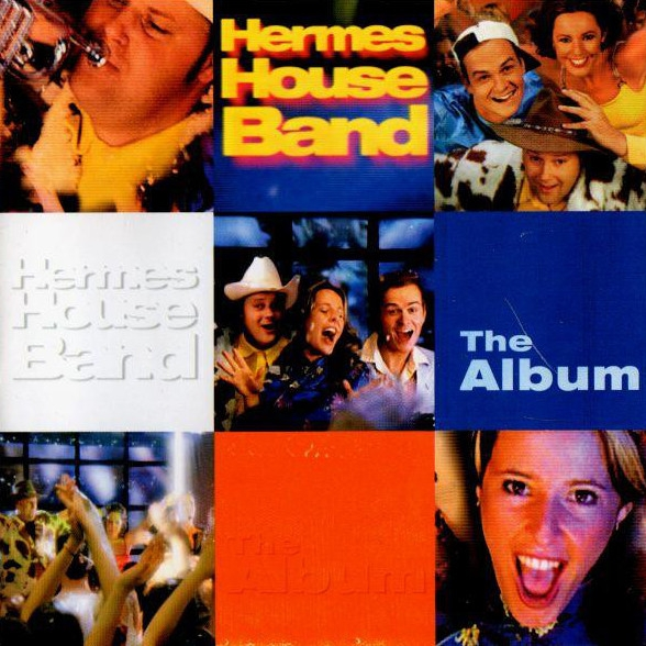 Hermes House Band The Album cover art