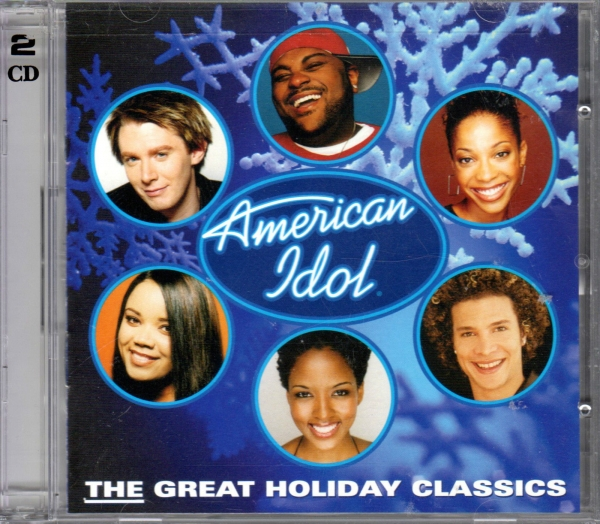 Ruben Studdard American Idol: The Great Holiday Classics cover art