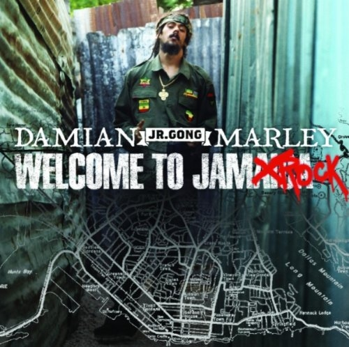 Stephen Marley Welcome to Jamrock cover art