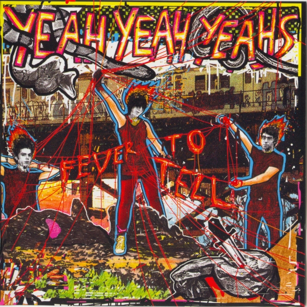 Yeah Yeah Yeahs Fever to Tell cover art