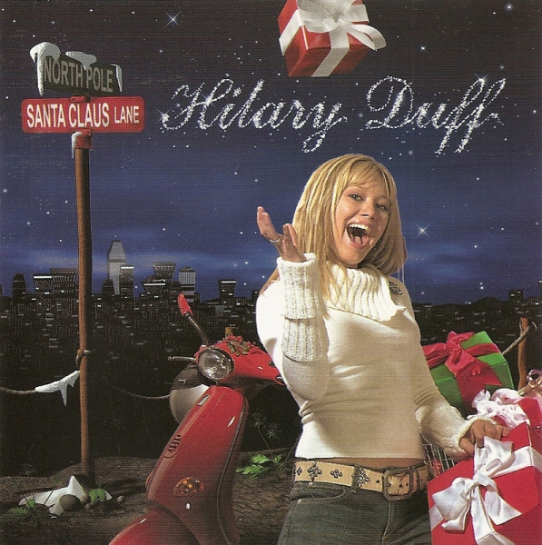Hilary Duff Santa Claus Lane cover art