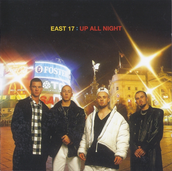 East 17 Up All Night Cover Art