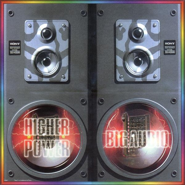 Big Audio Higher Power Cover Art