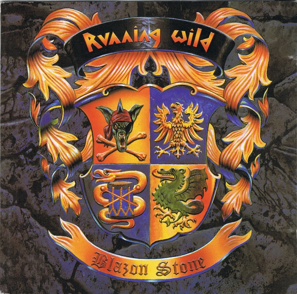 Running Wild Blazon Stone cover art