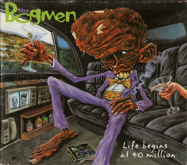 The Bogmen Life Begins at 40 Million Cover Art