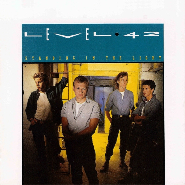 Level 42 Standing in the Light Cover Art