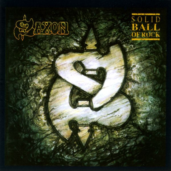 Saxon Solid Ball of Rock Cover Art