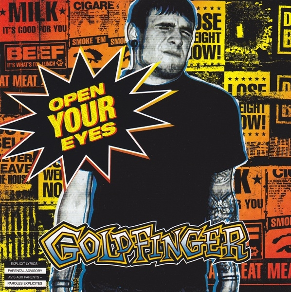Goldfinger Open Your Eyes cover art