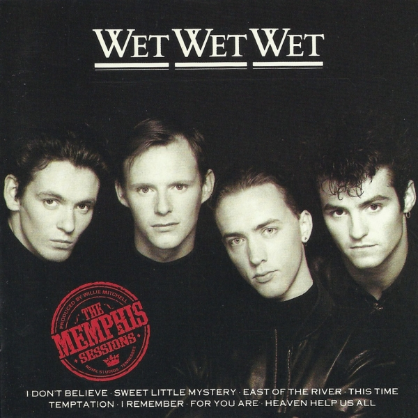 Wet Wet Wet The Memphis Sessions Cover Art
