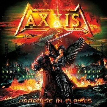 Axxis Paradise in Flames Cover Art