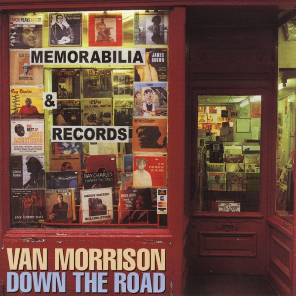 Van Morrison Down the Road Cover Art