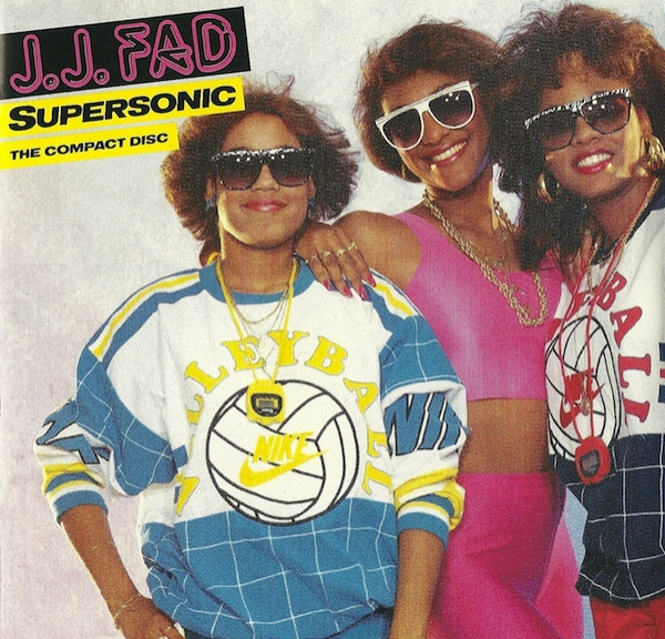 J.J. Fad Supersonic cover art