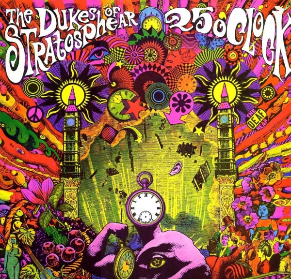 The Dukes of Stratosphear 25 O'Clock Cover Art
