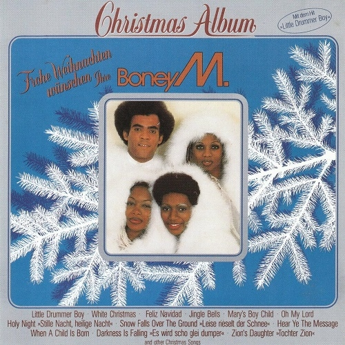 Boney M. Christmas Album cover art