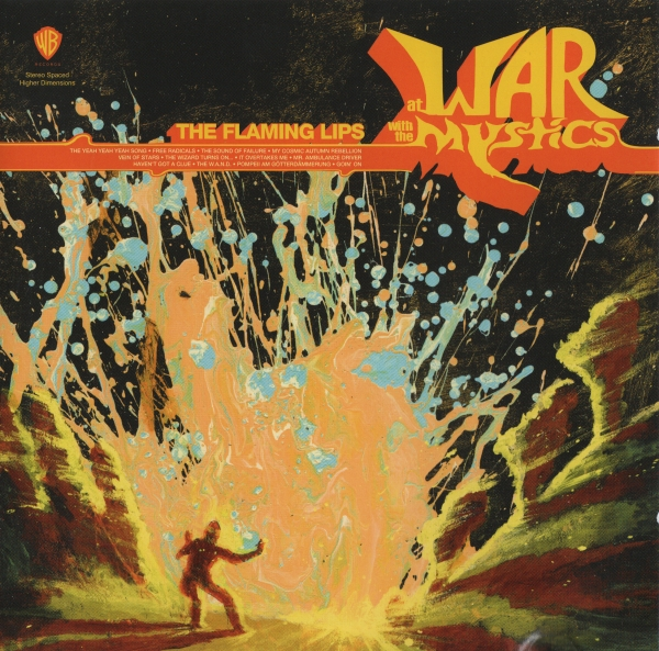 The Flaming Lips At War With the Mystics cover art