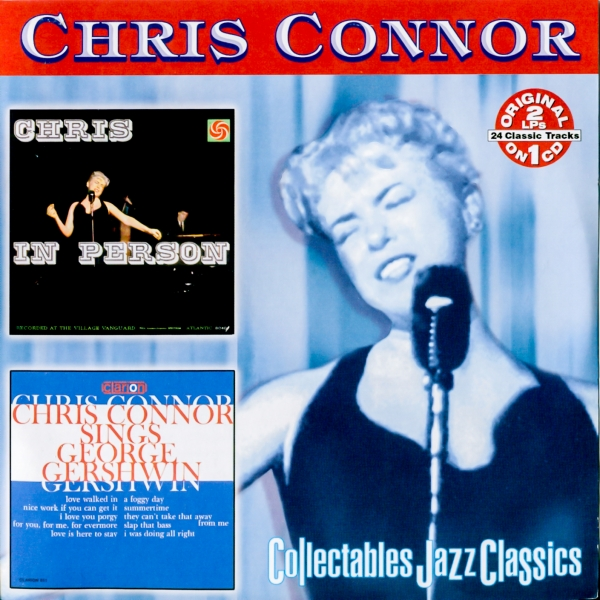 Chris Connor Chris in Person / Sings George Gershwin cover art