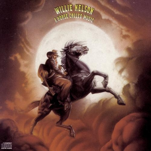 Willie Nelson A Horse Called Music Cover Art
