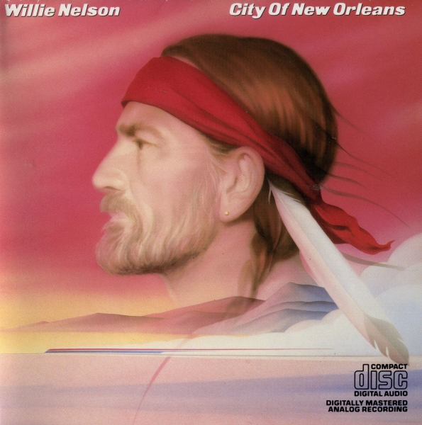Willie Nelson City of New Orleans cover art