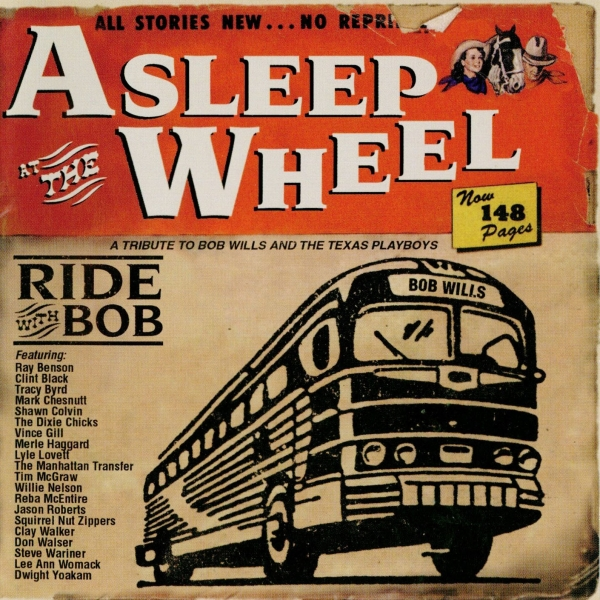 Asleep at the Wheel Ride With Bob Cover Art