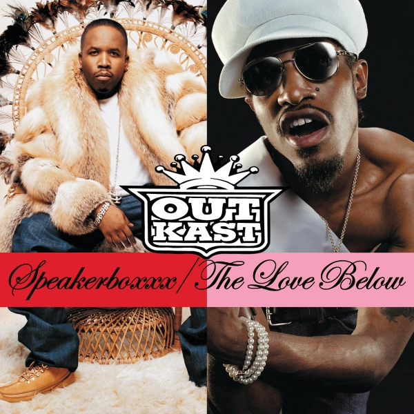 OutKast Speakerboxxx / The Love Below Cover Art