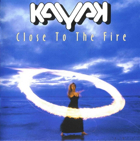 Kayak Close to the Fire cover art