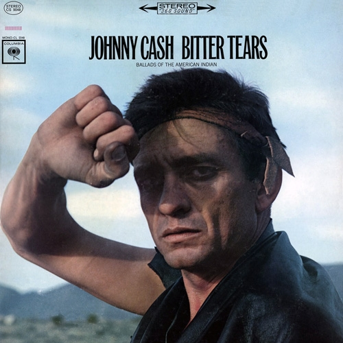 Johnny Cash Bitter Tears: Ballads Of The American Indian cover art