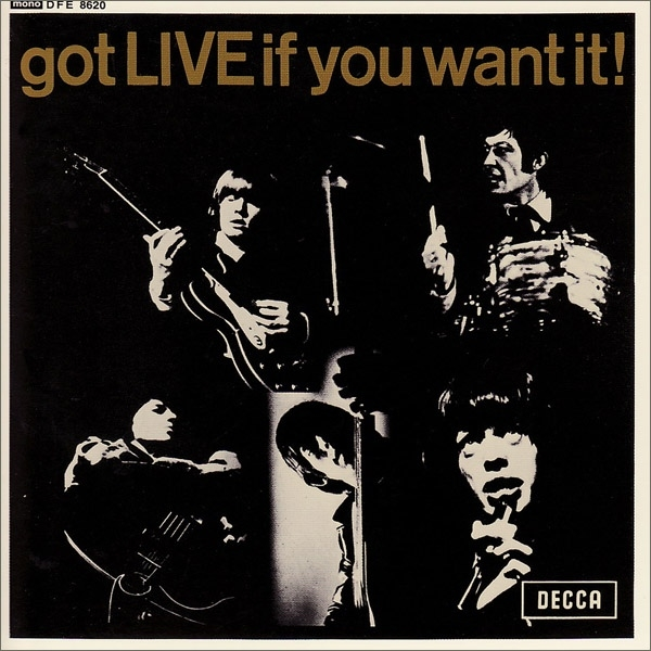 The Rolling Stones Got Live If You Want It! Cover Art