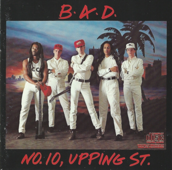Big Audio Dynamite No. 10, Upping St. Cover Art