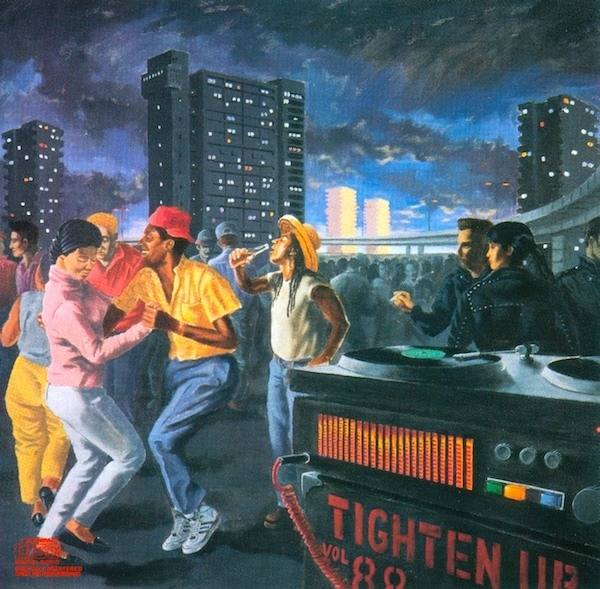 Big Audio Dynamite Tighten Up Vol. 88 Cover Art