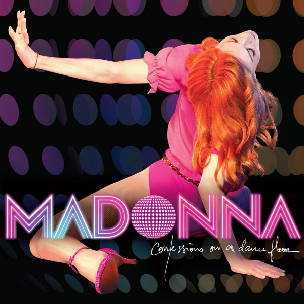 Madonna Confessions on a Dance Floor cover art