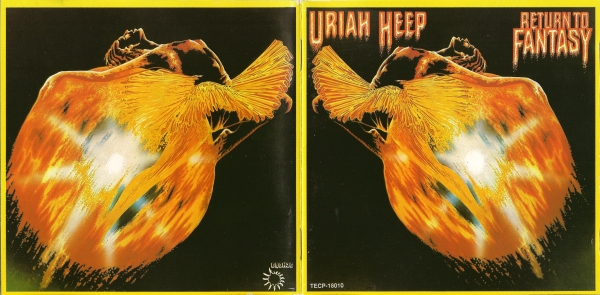 Uriah Heep Return to Fantasy Cover Art