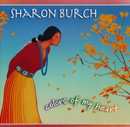 Sharon Burch Colors of My Heart cover art